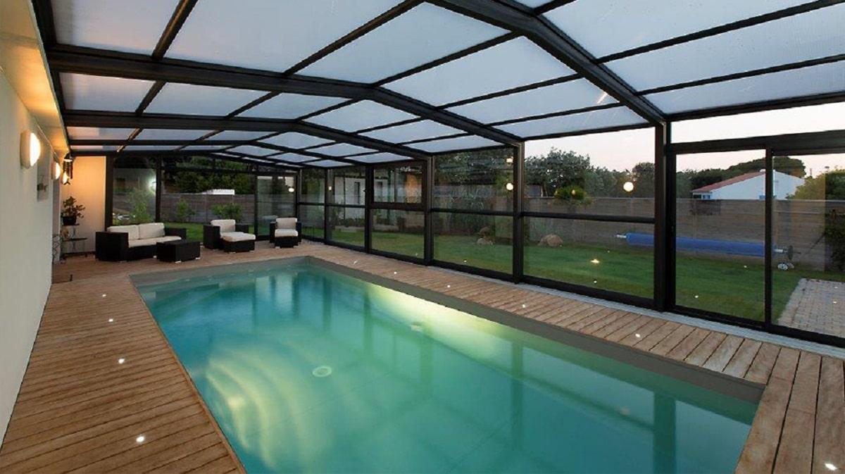 abri de piscine télescopiques